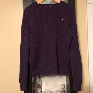Ralph Lauren Cable Knit Sweater - EUC